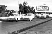 66012 - Cortina 1500 Invitation Race Sandown 1966 - Harvey leads Leo, Ian  Pete  Geoghegan, Palmer, McKeown and Bartlett