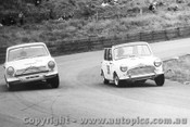 66013 - Volkers Cortina / Holland Morris Cooper S - Catalina Park Katoomba 1966