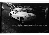 349 N. S. Norway & #53 J. Haisley, Jaguar XK120 - Phillip Island - 22nd April 1957 - Code 57-PD-P22457-067