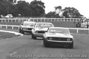 71055 - Jane Camaro / Beechey  Monaro /  Moffat Ford Mustang - Sandown  1971