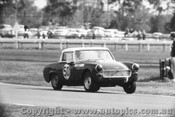65419 - Doug Chivas  Austin Healey Sprite - Warwick Farm 1965 - Photographer Lance Ruting