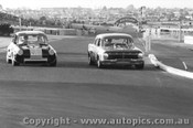 74047 - R. Harrop EH Holden / B. Thomson  Volkswagen VW V8 - Sandown 1974