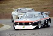 81011 - T. Edmondson Alfa Romeo Alfetta V8 - Oran Park 1981