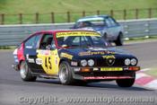 85734 - R. Gulson / F. Porter - Alfa Romeo  GTV 6 - Bathurst 1985