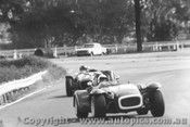 69441 - J. Maroulis Lotus Super Seven Ford / T. Booth Nota Sportsman Sunbeam  - Warwick Farm 1969