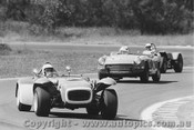 71410 - E. Porter Lotus Super Seven Ford / G. Laurie Triumph Spitfire / R. Kearns Welsor Clubman Ford - Warwick Farm 1971