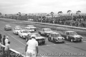 65037 - Beechey Mustang / Manton Morris Cooper S / McKeown Lotus Cortina / Jane and Moffat Lotus Cortinas and C. Smith Valiant - Calder 1965