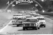 71073  - Bond / Morris / Brock all in Holden Torana LC XU1 Lead the pack at Warick Farm 1972