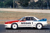 90002  -  J. Richards / M. Skaife  - Nissan Skyline GT-R - Eastern Creek 1990