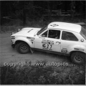 Southern Cross Rally 1975 - Code - 75-T SC61075-011