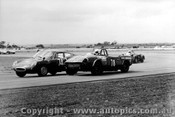 70431 - G. Cesario Fiat Abarth / B. Sampson Triumph Spitfire - Calder 1070