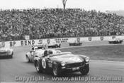 73408 -D. Hughes Austin Healey Sprite  B. Campbell Triumph  - Oran Park 1973