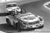 74412 - B. Cox Datsun 2000 SR311  G. Bland Triumph GT6 - Oran Park 1974
