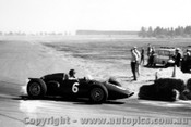 61513 - D. Gurney  BRM P48 - Ballarat Air Strip 1961