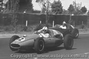 62519 - J. Youl Cooper / Lex Davison Aston Martin DBR4/300  - Sandown 1962