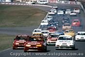 89006 - Bowe / Johnson / Brock  Ford Sierra RS5000 - First Lap Amaroo 1989