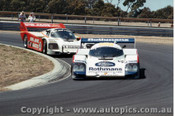 84405 - J. Brabham  Porsche 956T & A. Miedecke / C. Bond Porsche 956T - Final Round of the World Sports Car Championship - Sandown 1984