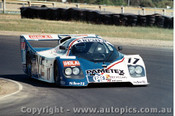84408 - K. Kroesemeijer / J. Parrara Kremer CK5T - Final Round of the World Sports Car Championship - Sandown 1984