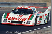 84414 - J. Winther / L. Jensen URD-BMW - Final Round of the World Sports Car Championship - Sandown 1984