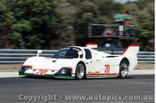 84415 - G. Spice / N. Crang / J. Trueman Tiga GC84 Ford - Final Round of the World Sports Car Championship - Sandown 1984