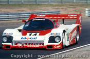 84418 - J. Palmer / J. Lammers  Porsche 956T - Final Round of the World Sports Car Championship - Sandown 1984