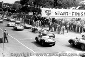58417 - 58. Sulman Aston Martin DB3S / 24-S. Jones Aston Martin DB3S / 24-L. Molina Monza / 26-D. Whiteford Maserati 300s / 82- F. Bird MG / 77-P. Hawkins Austin Healey 100s - Albert Park 1958