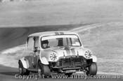 73076 - Roger Reece Morris Cooper S - Oran Park 1973  A few marks on negative