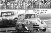 73079 - A. Taylor Fiat 600 / I. Munt Ford Zephyr V8 - Oran Park 1973