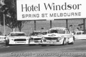 77023 - I. Diffen Chev Torana / R. Harrop Torana / J. Richards Mustang - Calder 1977