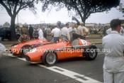 56527 - Peter Whitehead & Reg Parnell, Ferrari 555 F1  - Australian Grand Prix  Albert Park 1956