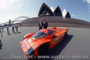 84420 - P. Brock / L. Perkins Porsche 956 - Taken in Sydney before leaving for Le Mans 1984