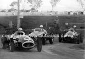 58561 -  Stan Jones, Maserati 250F - Ted Gray, Tornado - Lex Davison, Ferrari 625 - Australian Grand Prix (AGP) - Bathurst 1958