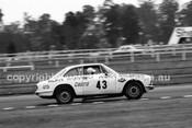 70849 - John French, Alfa Romeo 1750 GTV -  Warwick Farm 1970 - Photographer John Lindsay