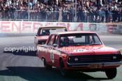 70853 - Des West & Leo Geoghegan, Valiant Pacer - Oran Park 1970 - Photographer John Lindsay