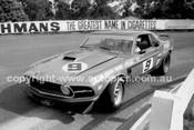 72573 - Allan Moffat, Trans AM Mustang  - Sandown 1972 - Photographer Peter D'Abbs
