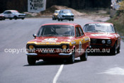 75087 - Bob Holden, Ford Escort & John French, Alfa Romeo GTV - Amaroo 1975 - Photographer Lance J Ruting