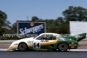 84428 - Allan Grice,  Dick Johnson & Ron Harrop, Chev Monza - Final Round of the World Sports Car Championship - Sandown 1984 - Photographer Peter D'Abbs