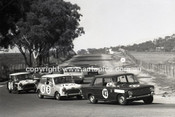67853 - Bill Tuckey & MaxStahl, Fiat 124  - Gallaher 500 Bathurst 1967 - Photographer Lance Ruting
