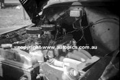 60034 - Under the bonnet of the Geoghegan FX Holden - Bathurst 3rd October 1960 - Photographer Lance Lowe