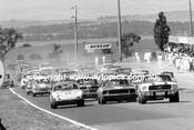 69046 - Ian Geoghegan, Bob Jane, Mustangs & Allan Hamilton, Porsche - Bathurst Easter 1969