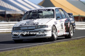 91036 - Allan Grice, Holden Commodore - Lakeside  1991 - Photographer Marshall Cass