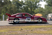 92046 - Kerry Baily, Toyota Supra - Sports Sedan Championships  Lakeside 1992 - Photographer Marshall Cass