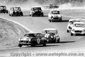 68075 - L. Manticas Buckle LMS Mini / D. Holland Mini S / J. Leffler Morris 850 - Oran Park 1968 - Photographer David Blanch