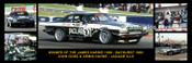 177 - John Goss & Armin Hahne Jaguar XJ-S - Bathurst Winner 1985 -  A Panoramic Photo 30x10 inches.