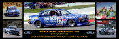 174 - Dick Johnson & John French, Falcon XD - Bathurst Winner 1981 -  A Panoramic Photo 30x10 inches.