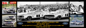172 - A. Moffat / J. Ickx & C. Bond / A. Hamilton - Bathurst Winner 1977 -  A Panoramic Photo 30x10 inches.