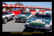 85748-1 - JRA Racing Team  - Jaguar XJ-S -- Printed with a black border and a caption discribing the photo.