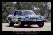 85737-1 - Tim Wilkinshaw / Win Percy - Jaguar XJ-S - Bathurst 1985 - Printed with a black border and a caption discribing the photo.