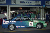 93036 - Graham Neilsen / Keith Carling / Bill Gillespie, Nissan Skyline GT-R  - 1993  Bathurst James Hardie 12 Hour- Photographer Marshall Cass