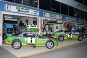 93028 - Garry Waldon & Alan Jones  / Charlie O'Brien & Gregg Hansford  Mazda RX7 - 1993  Bathurst James Hardie 12 Hour- Photographer Marshall Cass